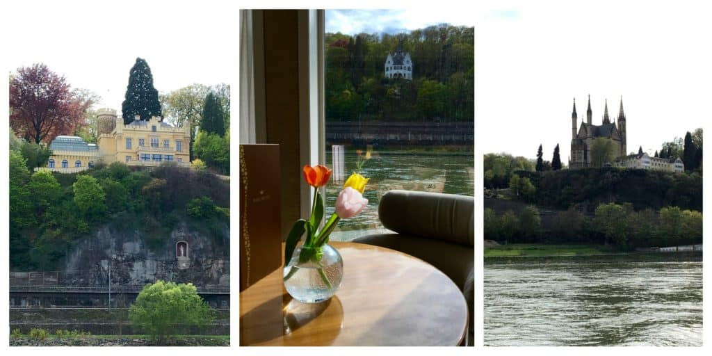 Sights along the Rhine