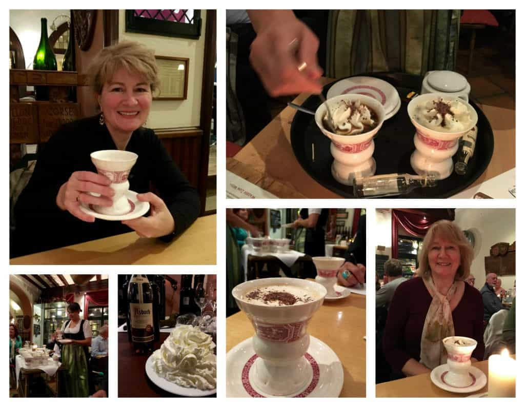 Rüdesheim coffee night in Germany with AmaWaterways!