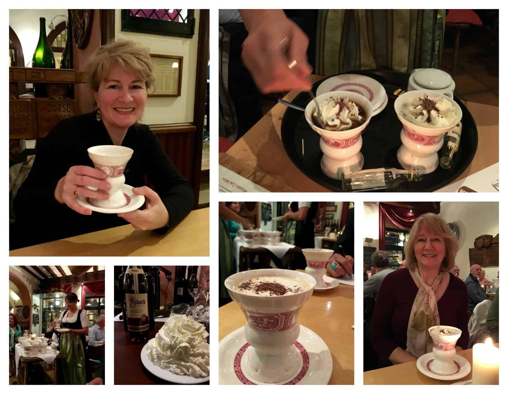 Rüdesheim coffee night in Germany with AmaWaterways!