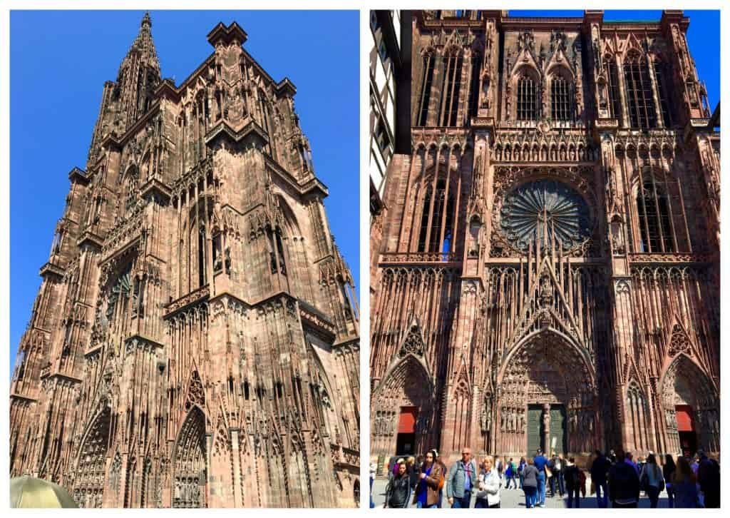 Exterior of the Strasbourg Cathedral