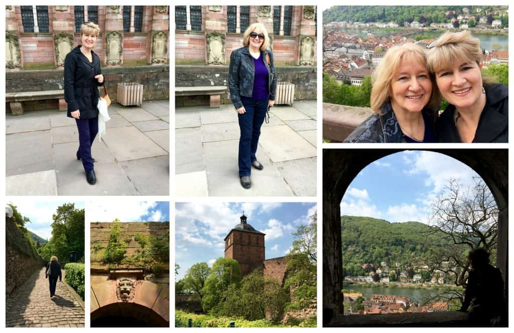 Castle collage (Heidelberg)