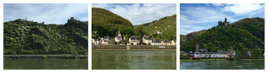 castles on the Rhine River