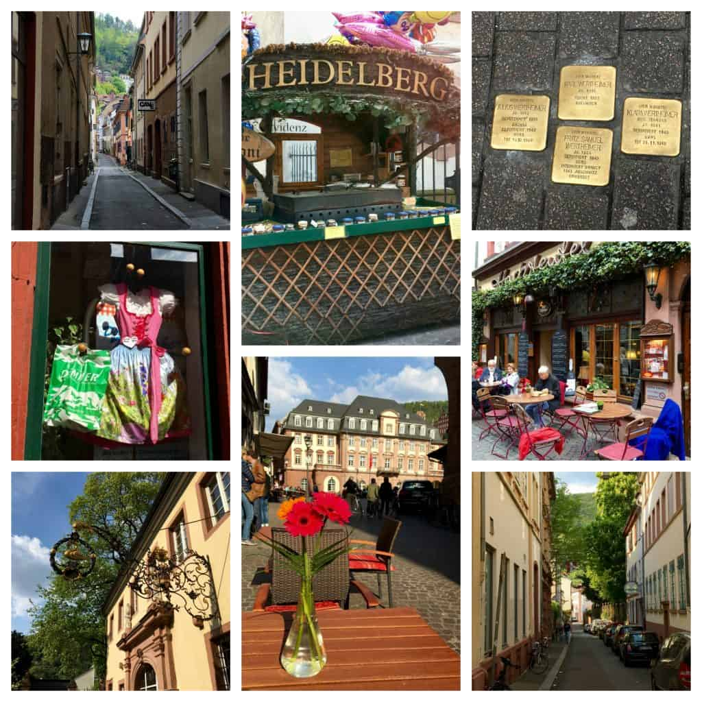 Collage of Heidelberg sights