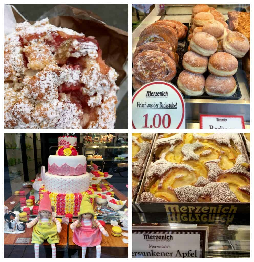 Pastries in Cologne