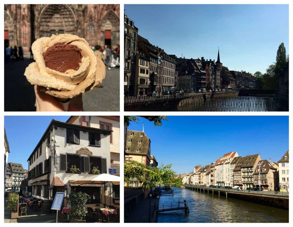 Strasbourg sights with AmaWaterways excursion.