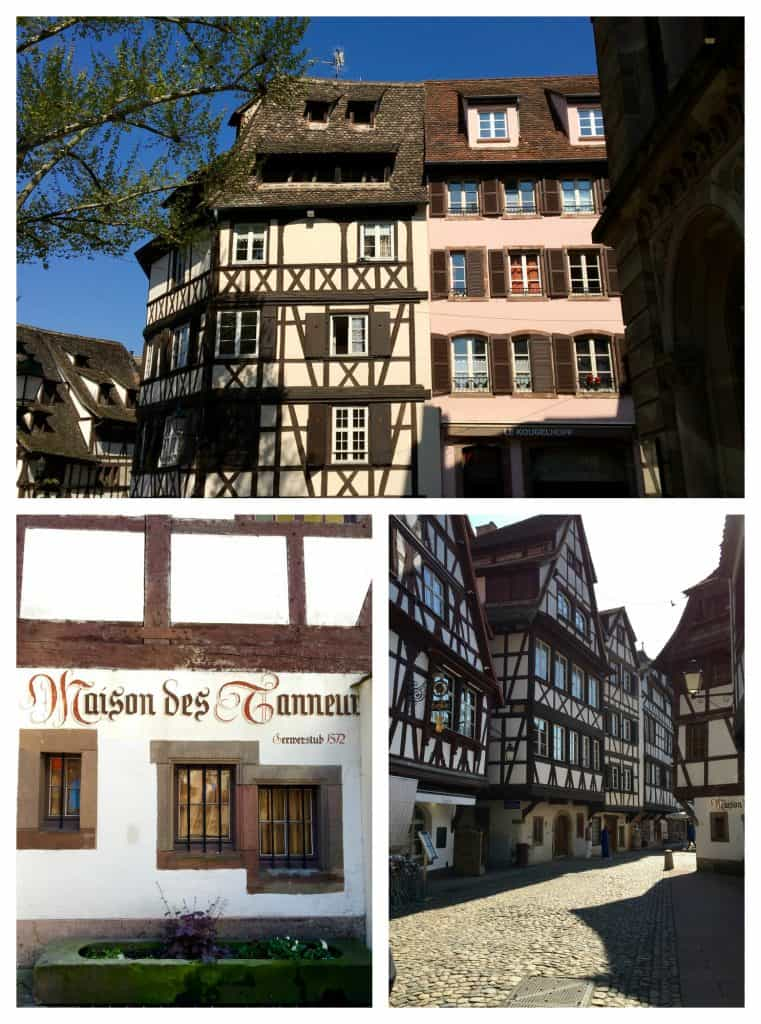 Strasbourg's tanners' buildings