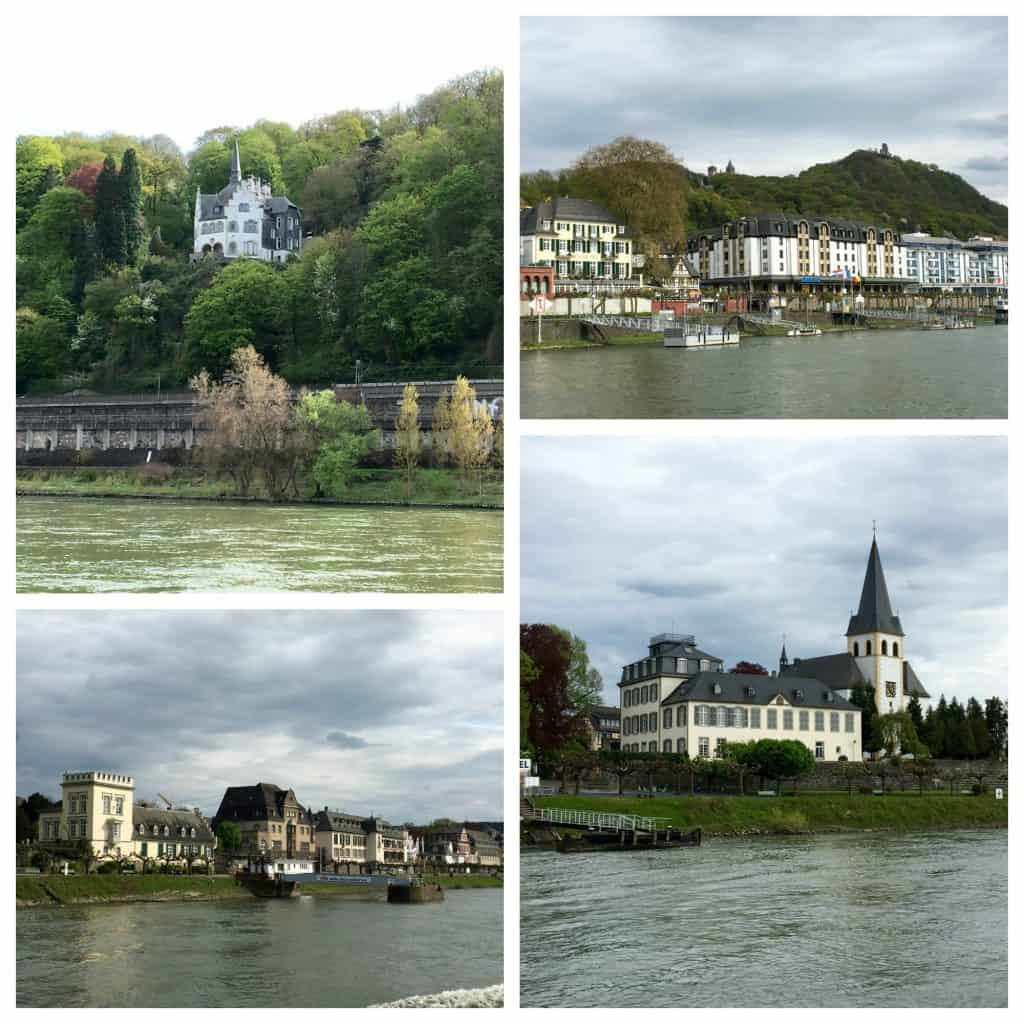 villages on the Rhine