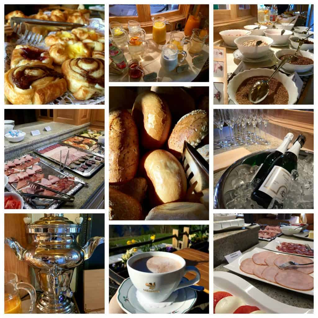 Breakfast buffet at Hotel Alemannenhof