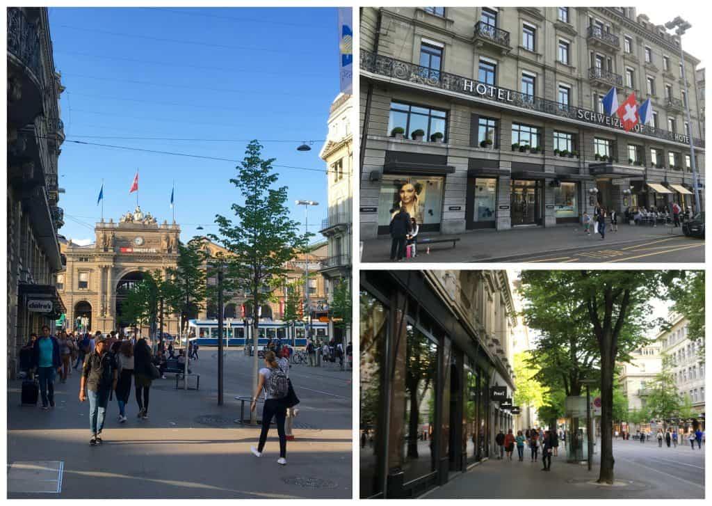 Hotel Schweizerhof in Zurich