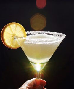 The Best Lemon Drop Martini Slush EVER!