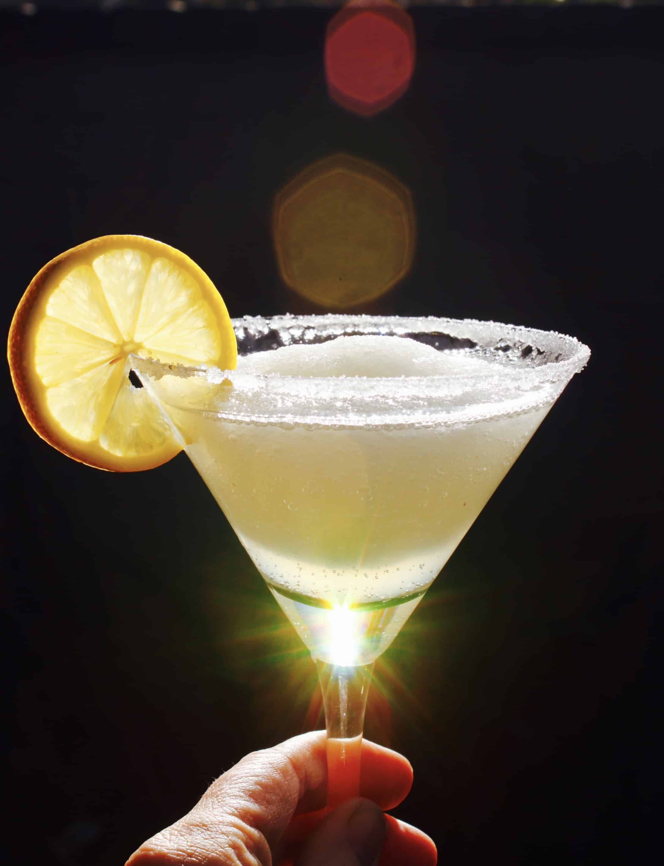 The best frozen lemon drop martini slush you 39 ll ever for Best mix drink ever