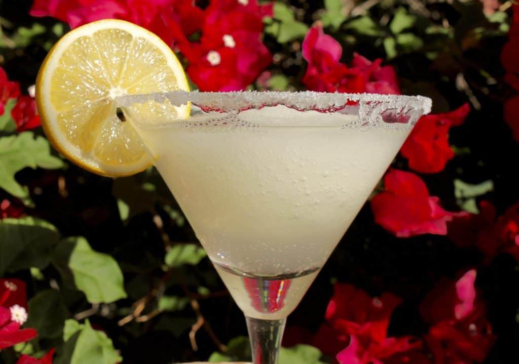 The Best Lemon Drop Martini Slush EVER!