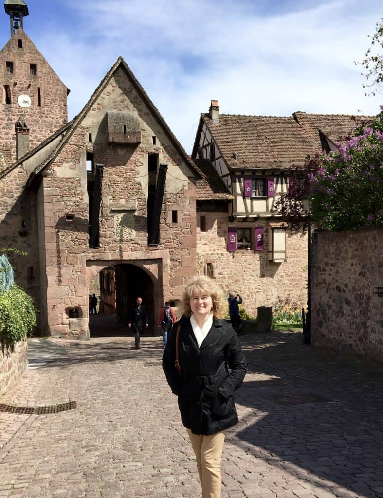 Christina in Riquewihr, France