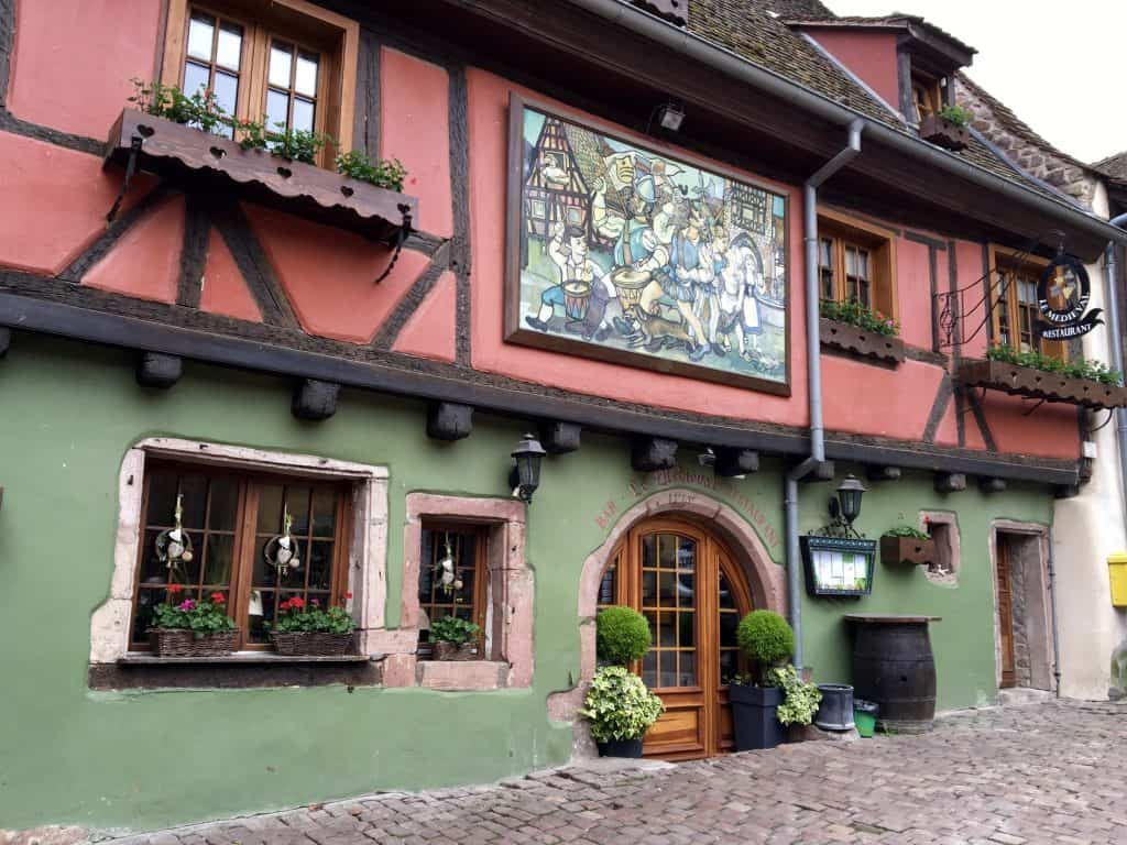 Pretty house in Riquewihr, France