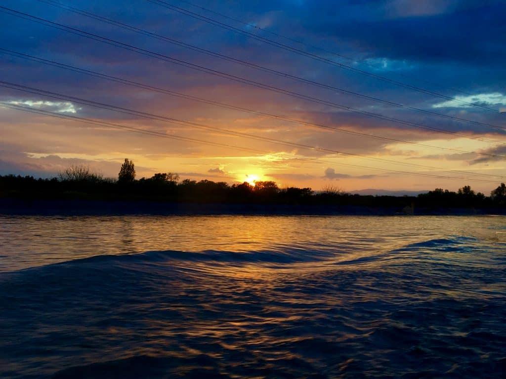 Sunset on the AmaCerto