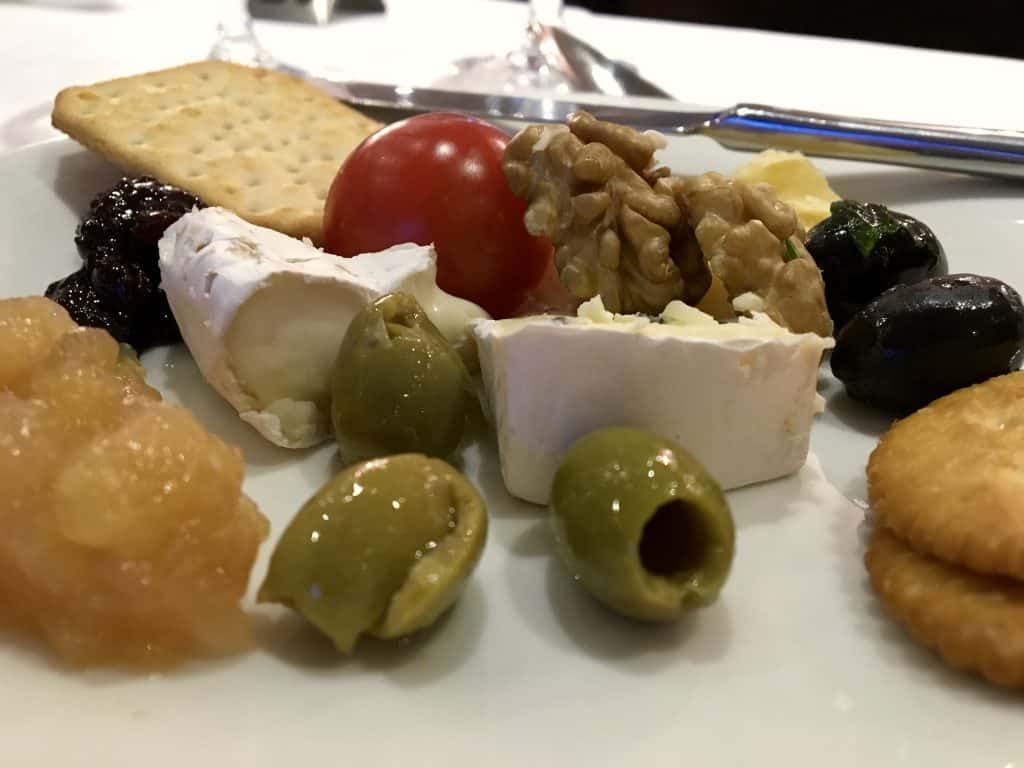 Cheese plate on the AmaCerto