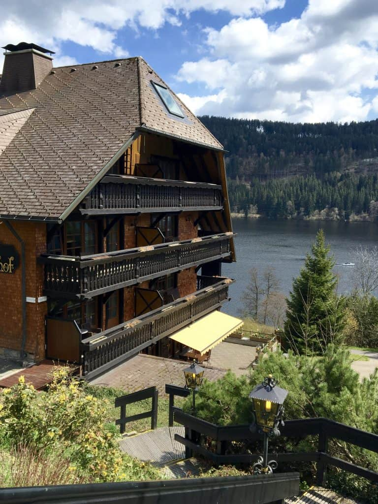 Hotel Alemannenhof on Lake Titisee, Germany