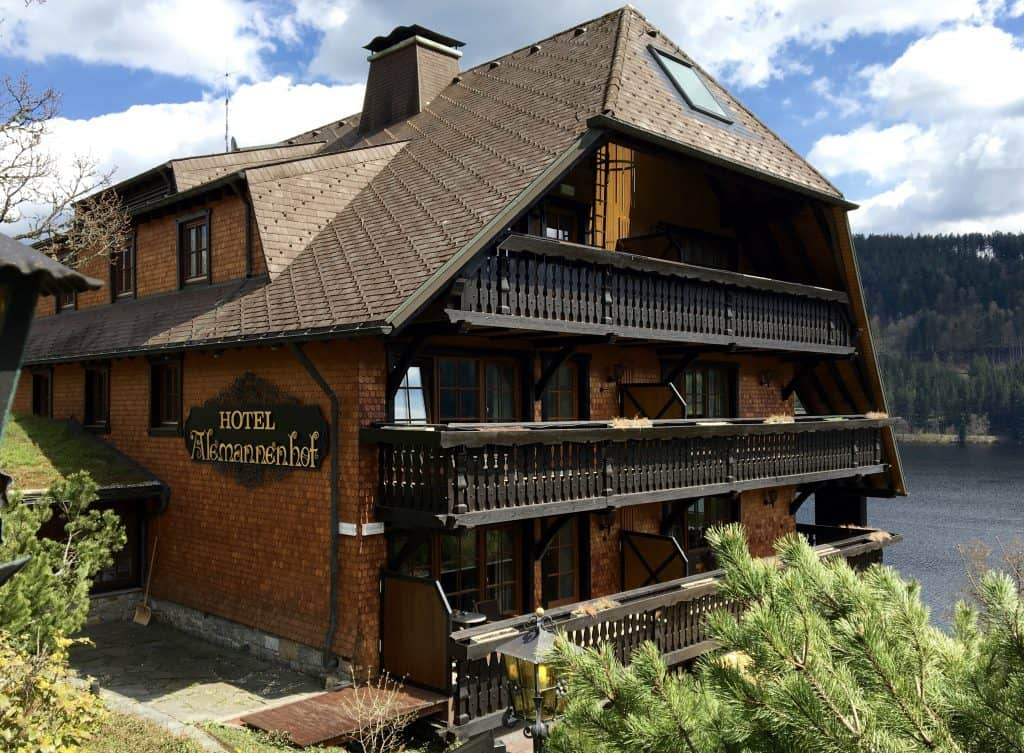 Hotel Alemannenhof on Lake Titisee in Germany
