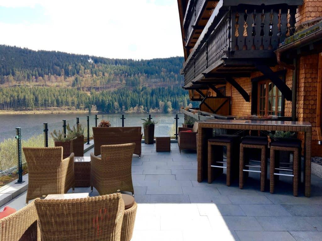 Hotel Alemannenhof view
