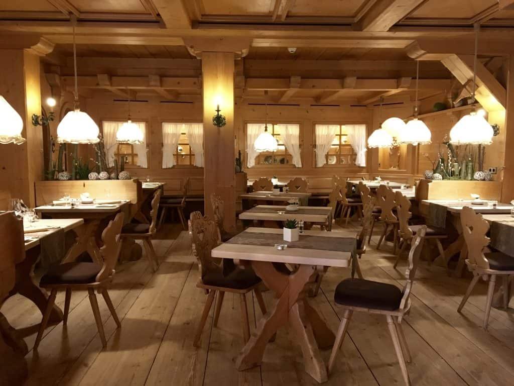 Hotel Alemannenhof restaurant.