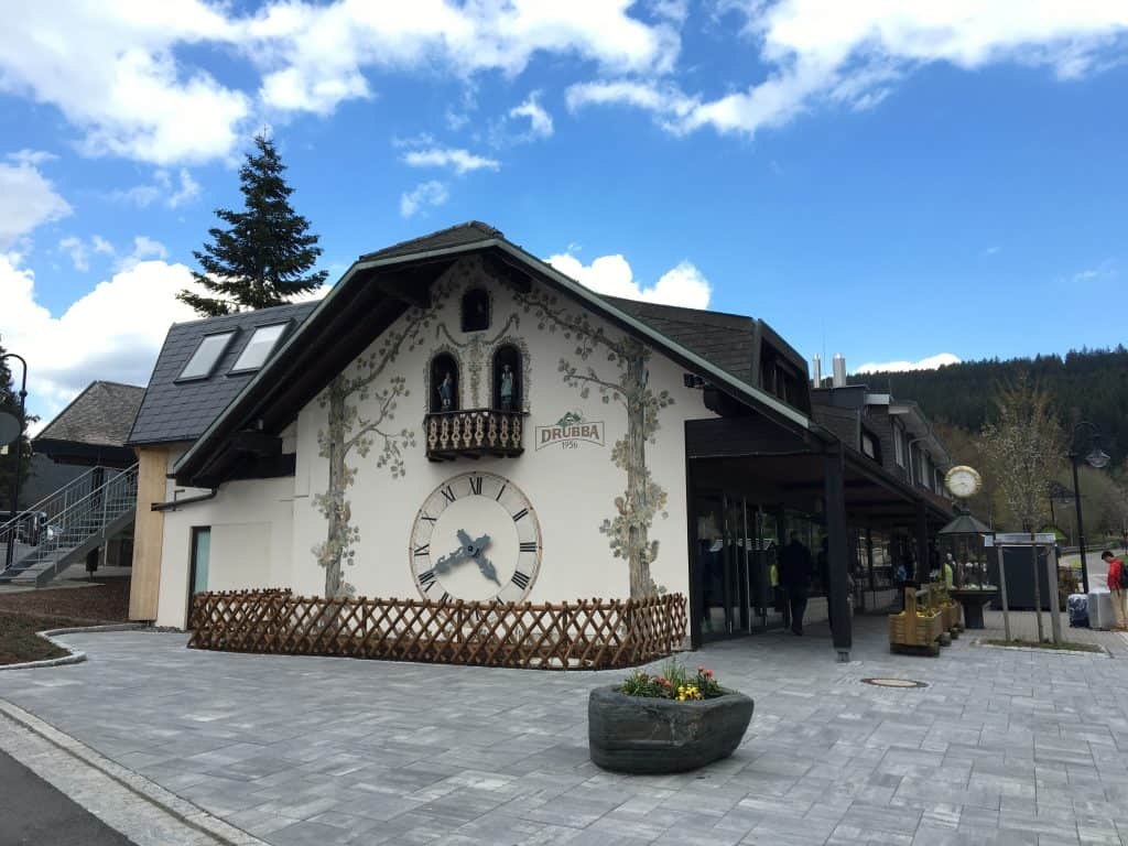 Drubba shopping in Lake Titisee