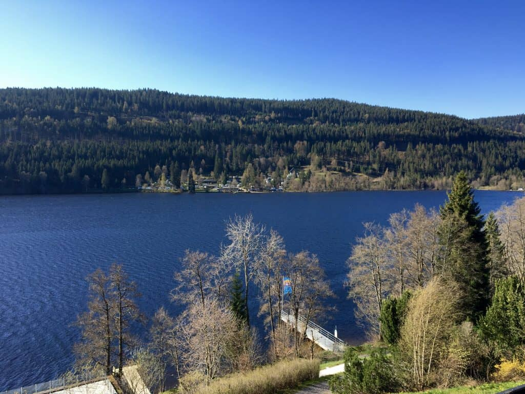 Lake Titisee view