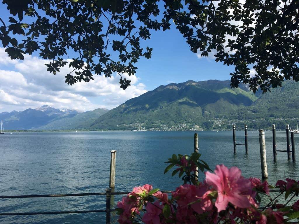 Locarno on Lake Maggiore
