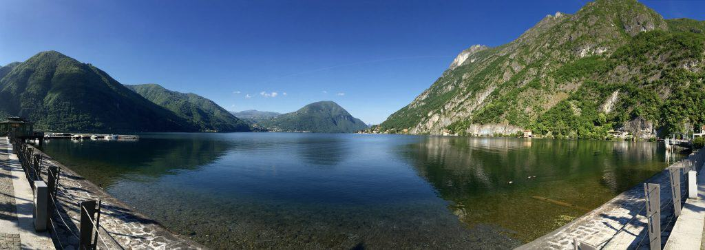 Porlezza view of Lake Lugano