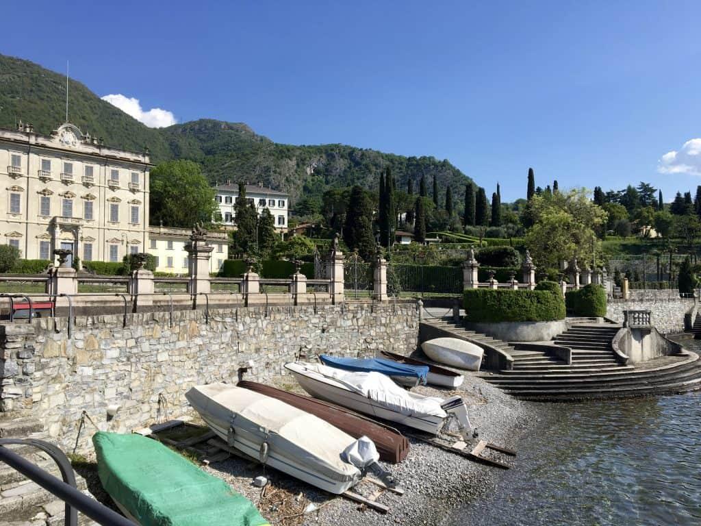 Boats in Tremezzo, Lombardy