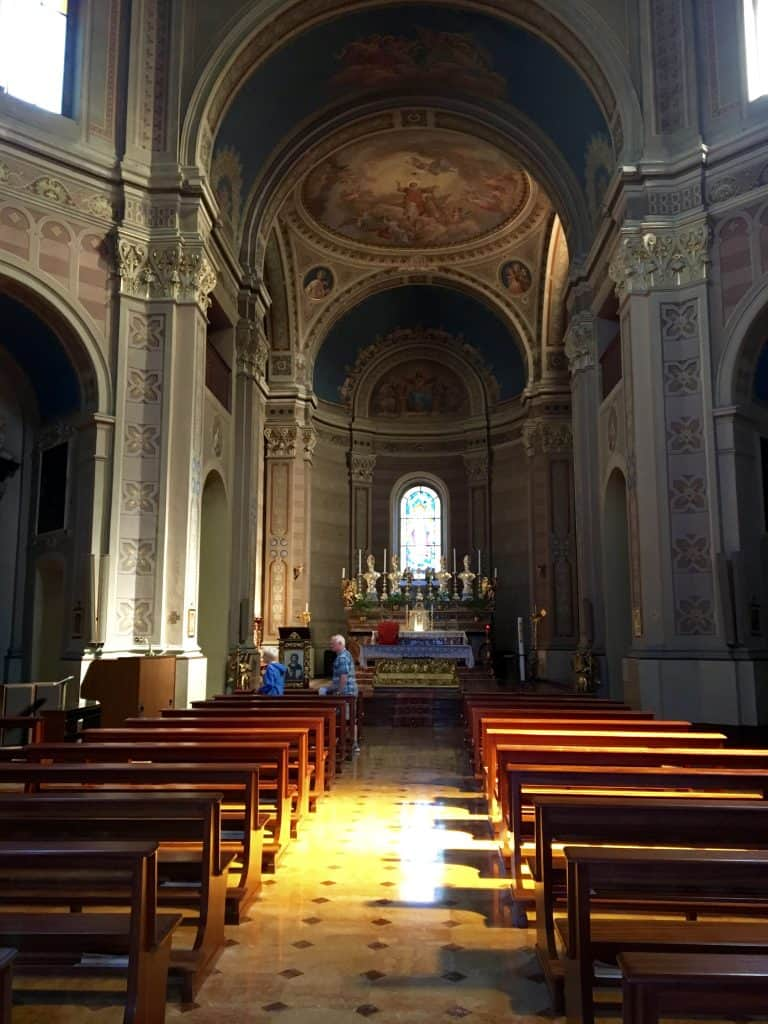 Church in Tremezzo, Lake Como
