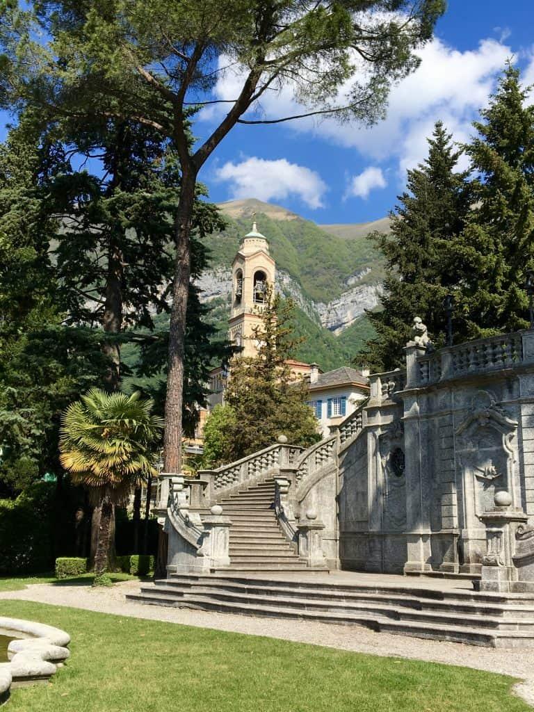Park in Tremezzo, Italy