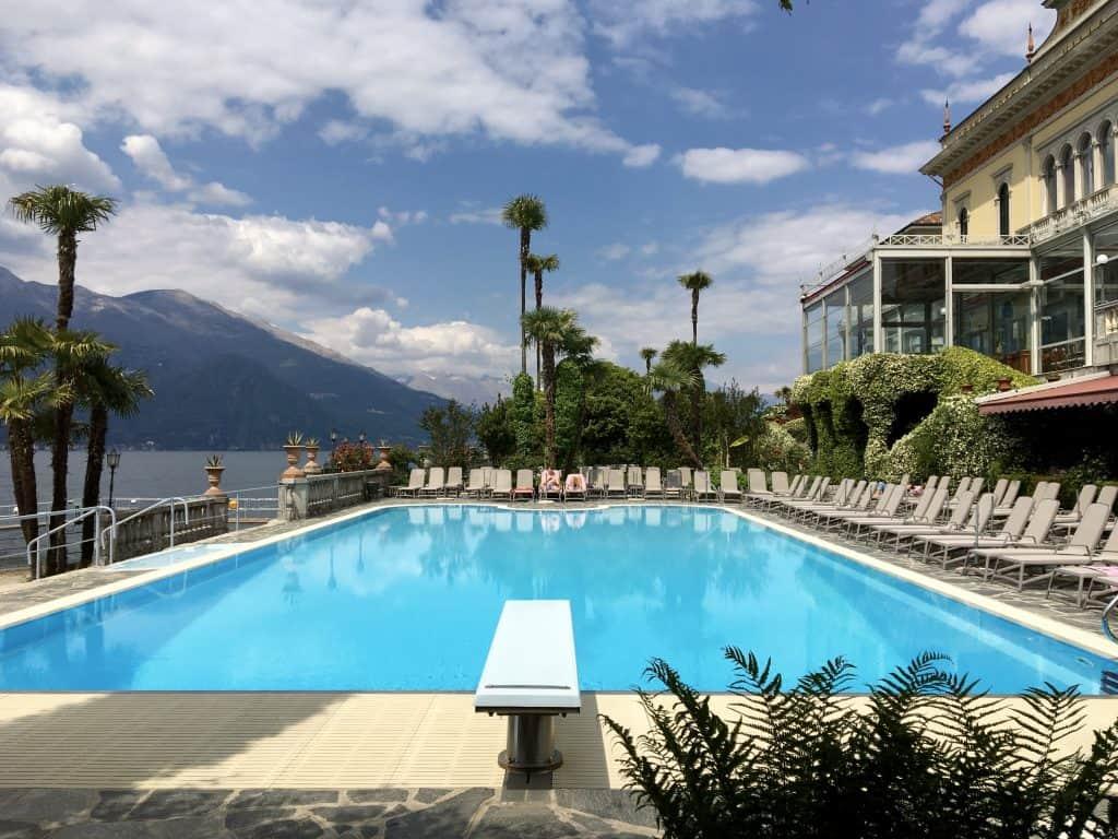 Pool at the Grand Hotel Villa Serbelloni