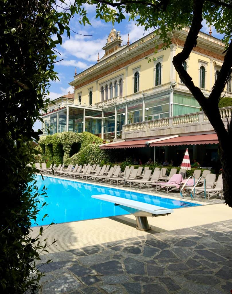 Pool at the Grand Hotel Villa Serbelloni