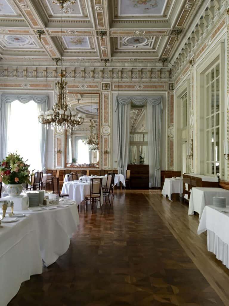 Grand Hotel Villa Serbelloni's breakfast room