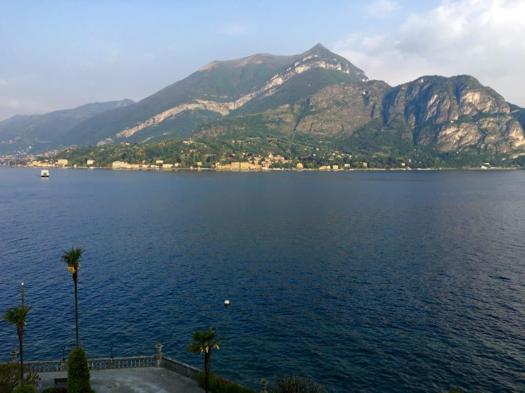 View of Lake Como from Grand Hotel Villa Serbelloni