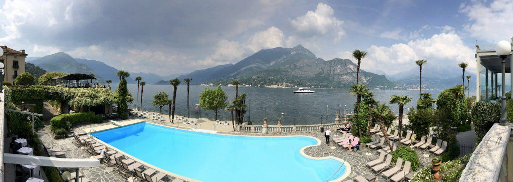 Grand Hotel Villa Serbelloni panoramic view