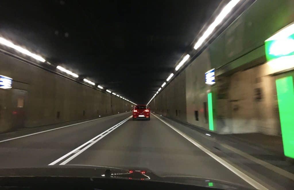 Gotthard Tunnel in Switzerland