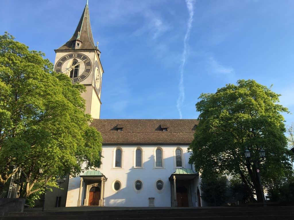 St Peter of Zurich Church