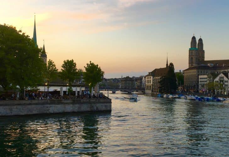 Zürich, Switzerland, a Stay at the Superb Hotel Schweizerhof