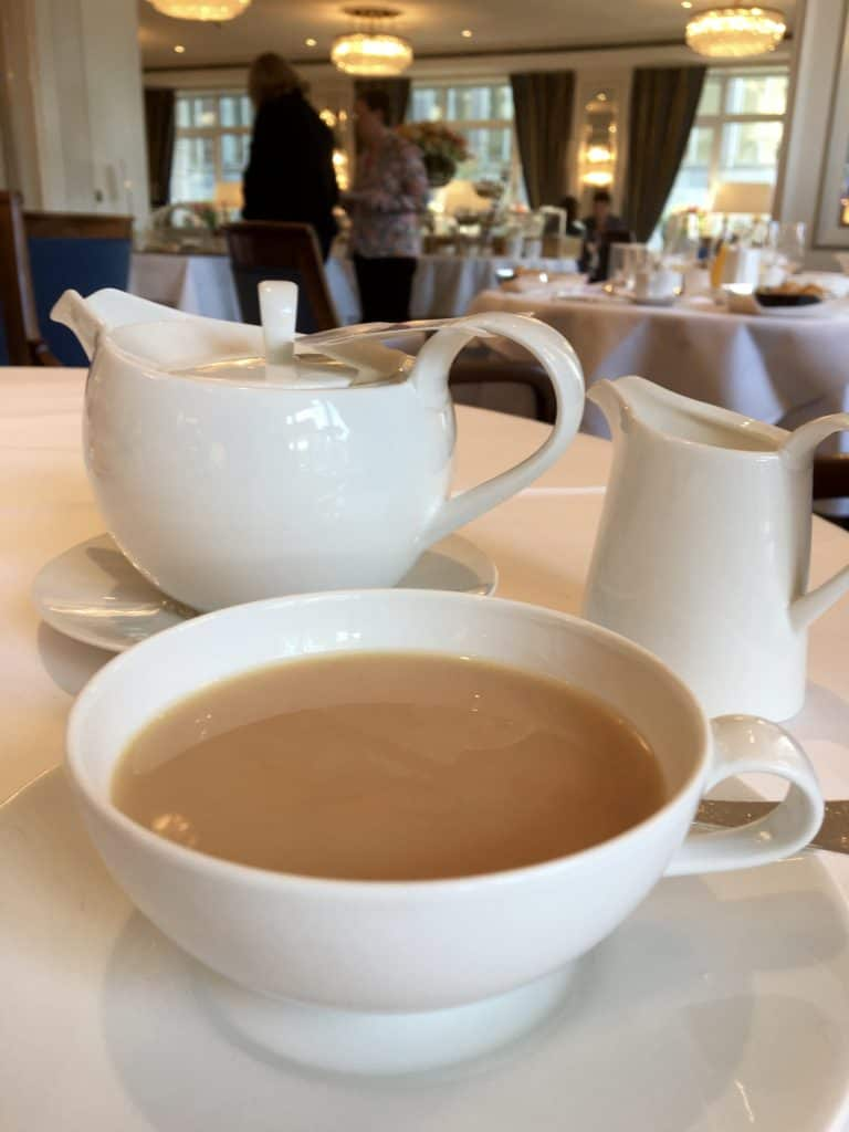 Tea at Hotel Schweizerhof