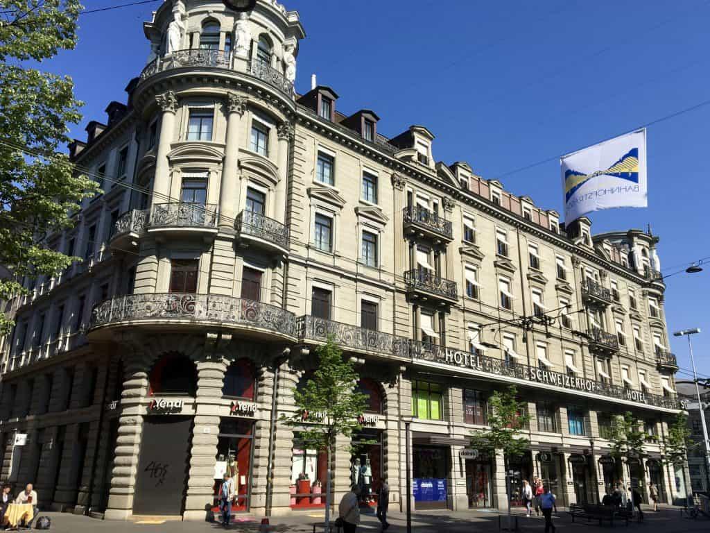 Hotel Schweizerhof, Zurich, Switzerland