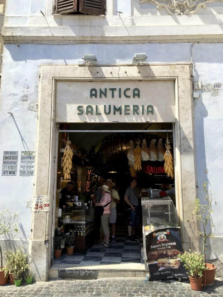 Antica Salumeria in Rome