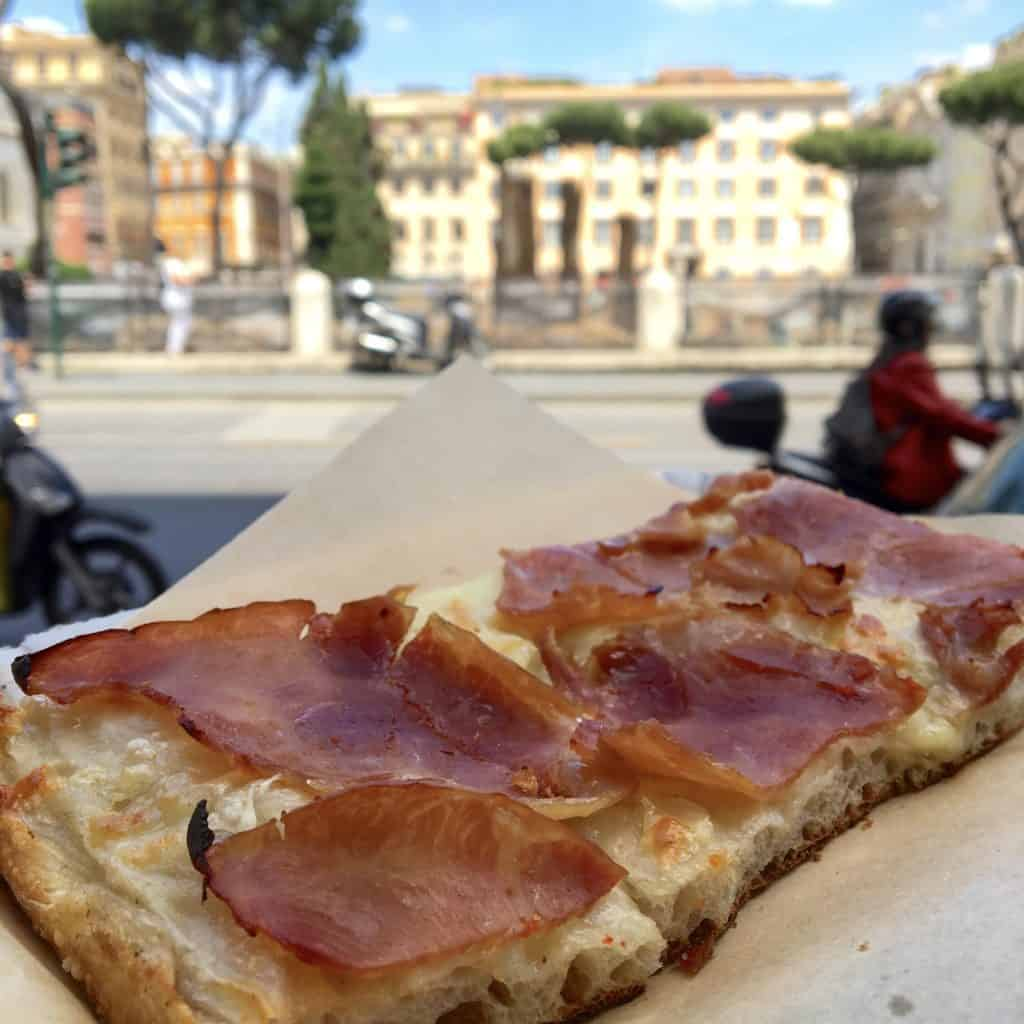 Pizza from Pizzeria Via Florida in Rome