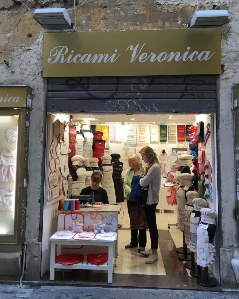 Ricami Veronica in Rome