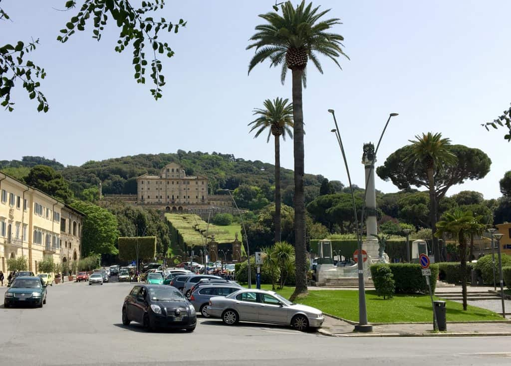 Villa Aldobrandini in Frascati, Italy