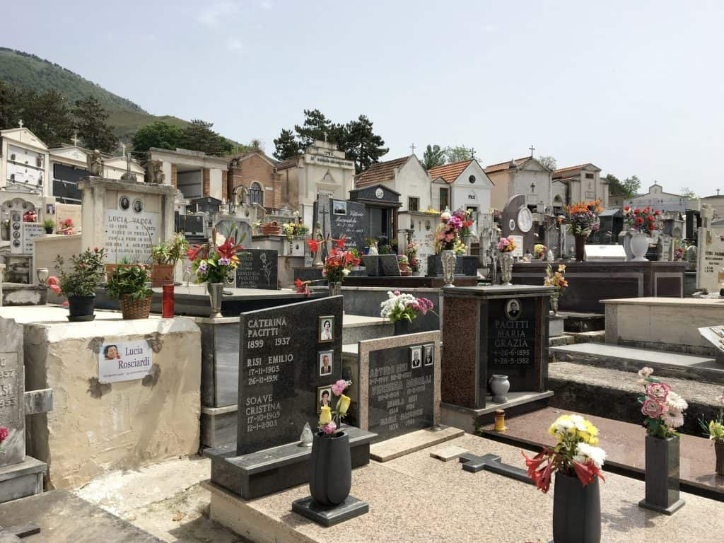 Cervaro Cemetery, Italy