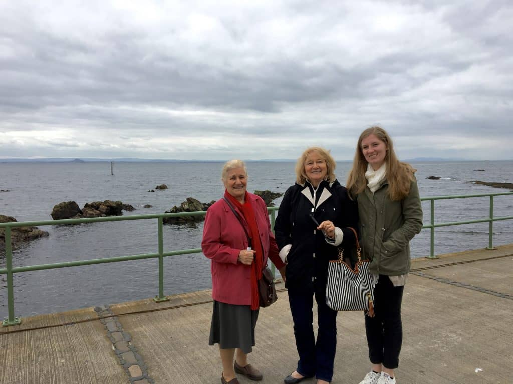 Pittenweem with family