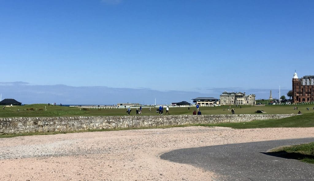 St. Andrews golf course, Scotland