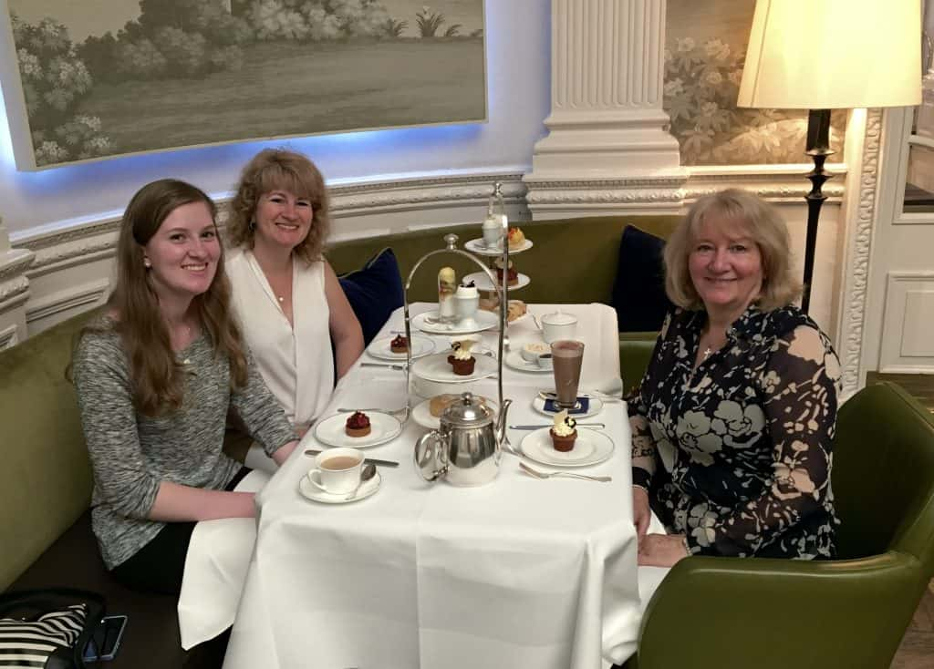 Afternoon tea at the Balmoral in Edinburgh