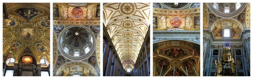 Inside Santa Maria Maggiore in Rome